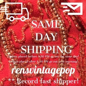 Average shipping time: 4 hrs (less than half-day!)